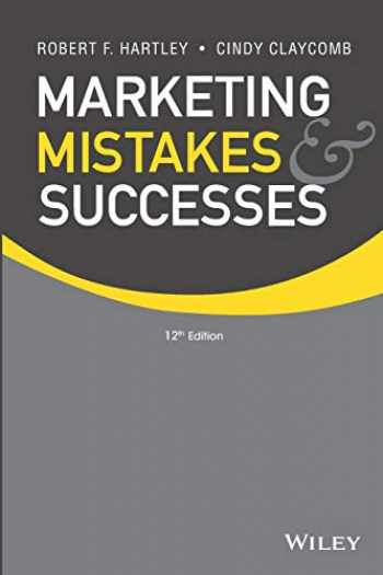 9781118078464-1118078462-Marketing Mistakes and Successes