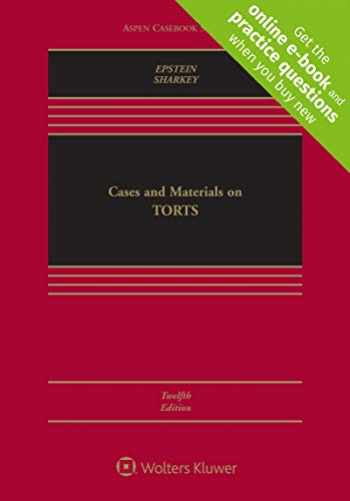 9781543822076-154382207X-Cases and Materials on Torts (Aspen Casebook) [Connected Casebook]