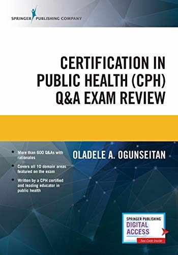 9780826161857-0826161855-Certification in Public Health (CPH) Q&A Exam Review – Study Resource Book for Students and Practitioners in Healthcare Management and Health Services
