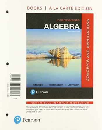 9780135993521-0135993520-Intermediate Algebra: Concepts and Applications, Loose-Leaf Edition Plus MyLab Math with Pearson eText -- 18 Week Access Card Package