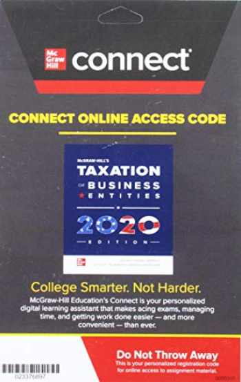 9781260432633-1260432637-Connect Access Card for McGraw-Hill's Taxation of Business Entities 2020 Edition