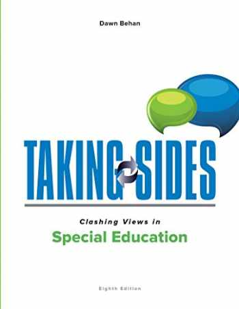 9781259665950-125966595X-Taking Sides: Clashing Views in Special Education