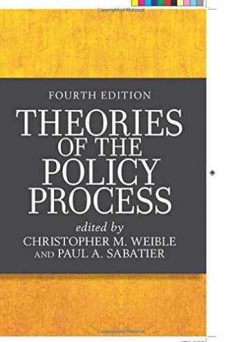 9780813350523-0813350522-Theories of the Policy Process