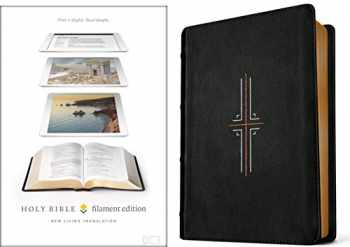 9781496433176-1496433173-Tyndale NLT Filament Bible (Hardcover Leather-Like, Black): Premium Bible with Access to Filament Bible App, Mobile Access to Study Notes, Devotionals, Video and More