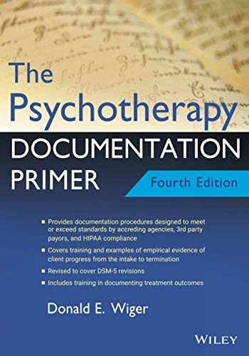 9781119709848-1119709849-The Psychotherapy Documentation Primer,4th Edition