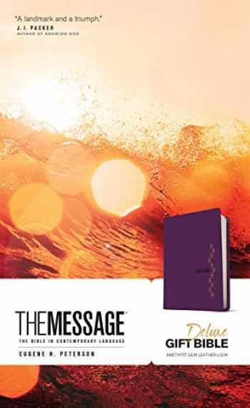 9781641581264-1641581263-The Message Deluxe Gift Bible (Leather-Look, Amethyst Gem): The Bible in Contemporary Language