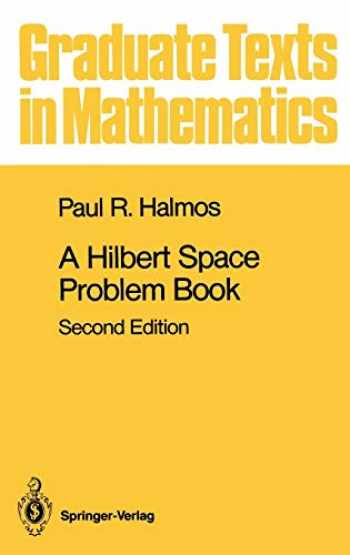 9780387906850-0387906851-A Hilbert Space Problem Book (Graduate Texts in Mathematics (19))