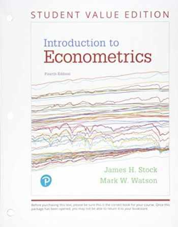 9780134520155-0134520157-Introduction to Econometrics, Student Value Edition