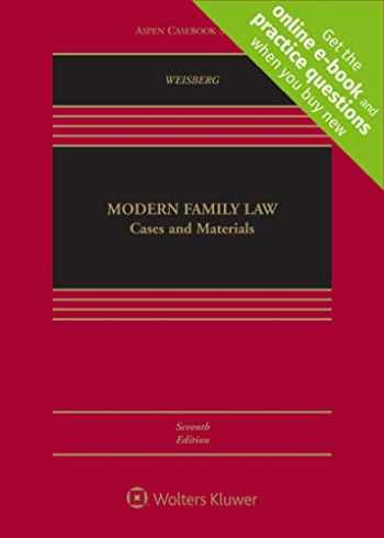 9781543804591-1543804594-Modern Family Law: Cases and Materials [Connected Casebook] (Aspen Casebook)