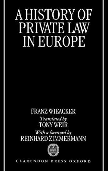 9780198258612-0198258615-A History of Private Law in Europe: with particular reference to Germany