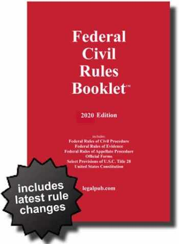 9781934852392-1934852392-2020 Federal Civil Rules Booklet