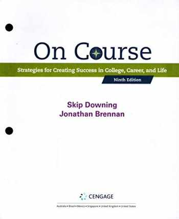 9780357022719-0357022718-ON COURSE (LOOSELEAF)-TEXT @ @