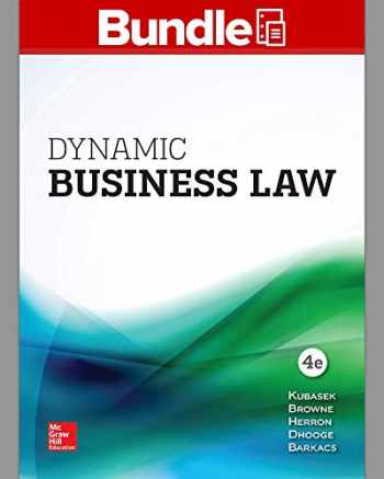 9781260087352-1260087352-GEN COMBO LL DYNAMIC BUSINESS LAW; CONNECT ACCESS CARD