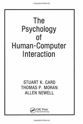 9780898598599-0898598591-The Psychology of Human-Computer Interaction