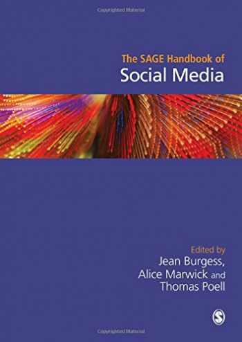 9781412962292-1412962293-The SAGE Handbook of Social Media