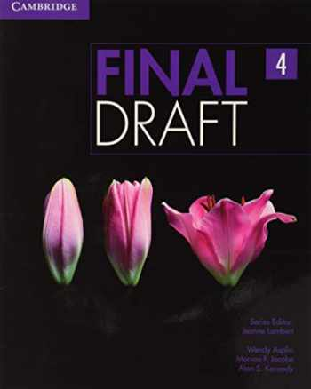 9781107495586-110749558X-Final Draft Level 4 Student's Book with Online Writing Pack
