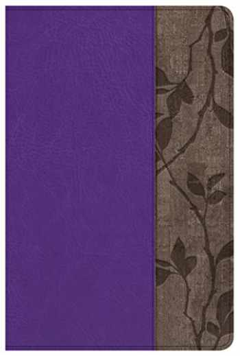 9781433649745-1433649748-Holman Study Bible: NKJV Edition Personal Size, Purple LeatherTouch, Indexed
