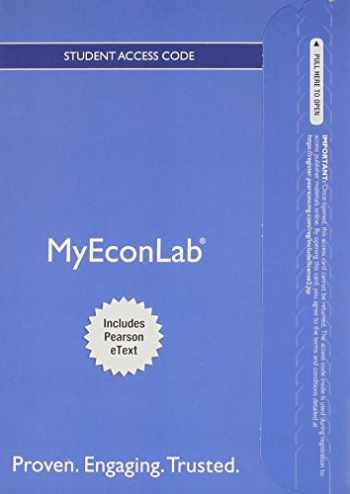 9780133456431-0133456439-NEW MyLab Economics with Pearson eText -- Access Card -- for Microeconomics