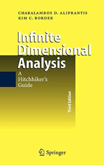 9783540295860-3540295860-Infinite Dimensional Analysis: A Hitchhiker's Guide