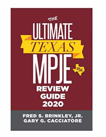 9780578609560-0578609568-The Ultimate Texas MPJE Review Guide 2020