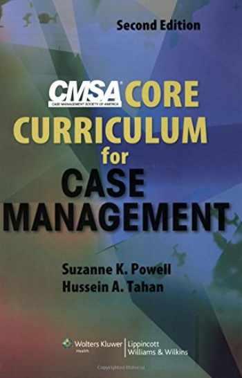 9780781779173-0781779170-CMSA Core Curriculum for Case Management