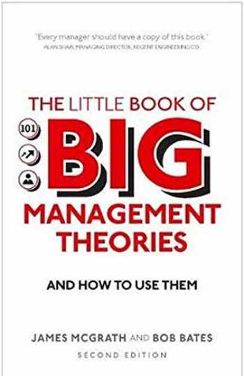 9781292200620-1292200626-The Little Book of Big Management Theories: ... and how to use them