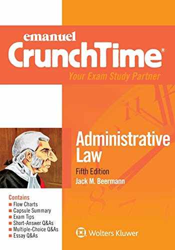 9781543805666-1543805663-Emanuel CrunchTime for Administrative Law