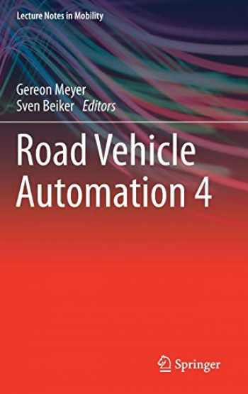 9783319609331-3319609335-Road Vehicle Automation 4 (Lecture Notes in Mobility)