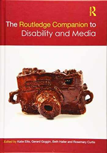 9781138884588-1138884588-The Routledge Companion to Disability and Media (Routledge Media and Cultural Studies Companions)