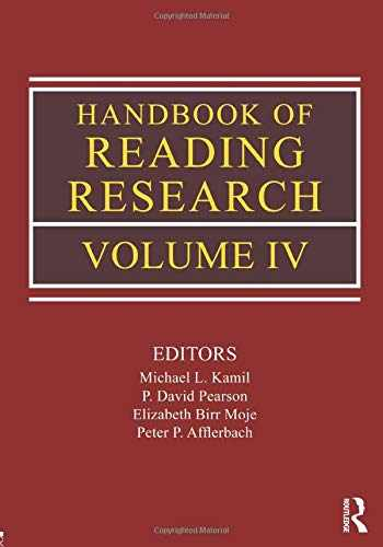 9780805853438-080585343X-Handbook of Reading Research, Volume IV