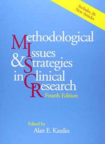 9781433820915-1433820919-Methodological Issues and Strategies in Clinical Research