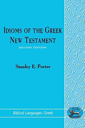 9781850753797-1850753792-Idioms of the Greek New Testament (Biblical Languages: Greek)