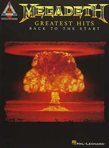 9781540026811-1540026817-Megadeth - Greatest Hits: Back to the Start