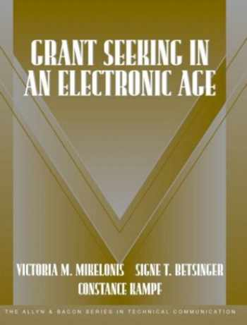 9780321160072-032116007X-Grant Seeking in an Electronic Age (Part of the Allyn & Bacon Series in Technical Communication)