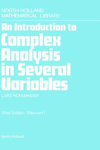 9780444884466-0444884467-An Introduction to Complex Analysis in Several Variables (Volume 7) (North-Holland Mathematical Library, Volume 7)