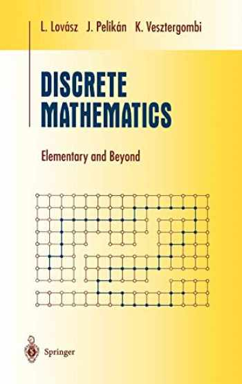 9780387955841-0387955844-Discrete Mathematics: Elementary and Beyond (Undergraduate Texts in Mathematics)