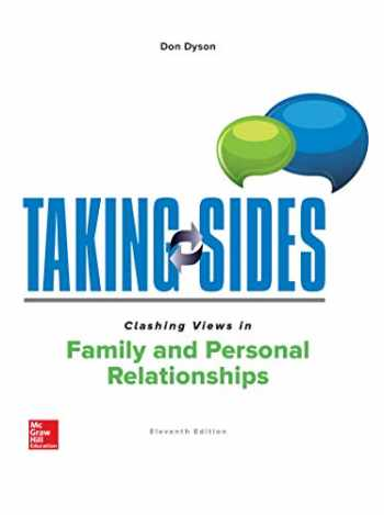 9781260181548-1260181545-Taking Sides: Clashing Views in Family and Personal Relationships