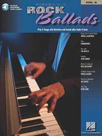 9781423417965-1423417968-Rock Ballads: Keyboard Play-Along Volume 6 (Hal Leonard Keyboard Play-Along)