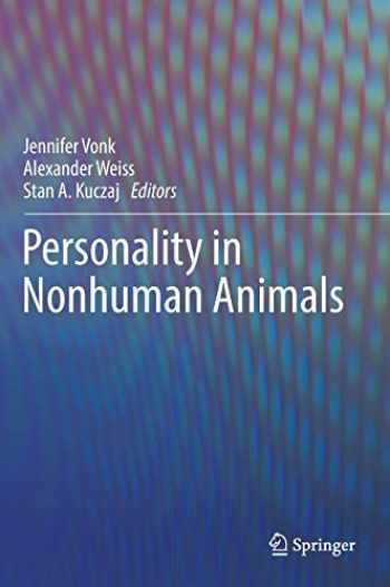 9783319592992-3319592998-Personality in Nonhuman Animals