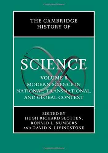 9780521580816-0521580811-The Cambridge History of Science: Volume 8, Modern Science in National, Transnational, and Global Context
