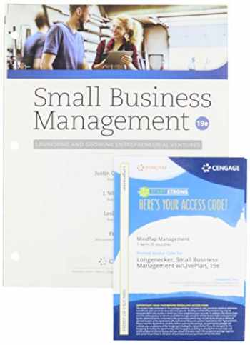 9780357101421-0357101421-Bundle: Small Business Management: Launching & Growing Entrepreneurial Ventures, Loose-leaf Version, 19th + MindTap with Live Plan, 1 term Printed Access Card
