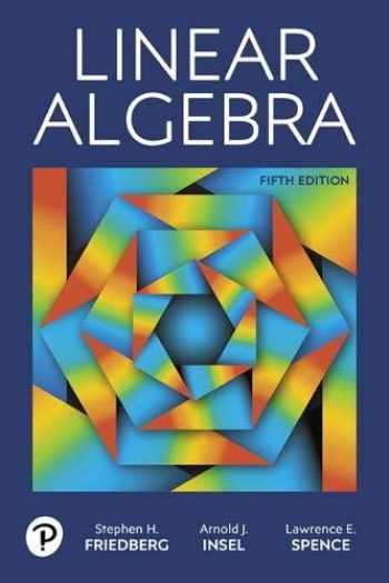 9780134860244-0134860241-Linear Algebra (5th Edition)