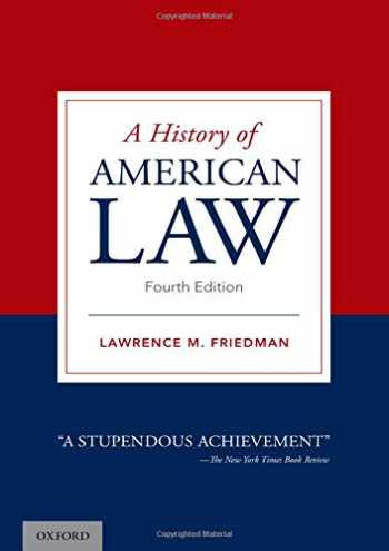 9780190070885-0190070889-A History of American Law