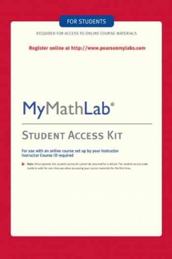 9780321199911-032119991X-MyMathLab: Student Access Kit