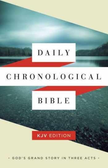 9781586409241-1586409247-Daily Chronological Bible: KJV Edition, Hardcover