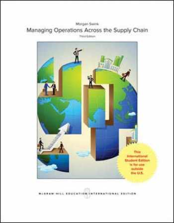 9781259254918-1259254917-Managing Operations Across the Supply Chain
