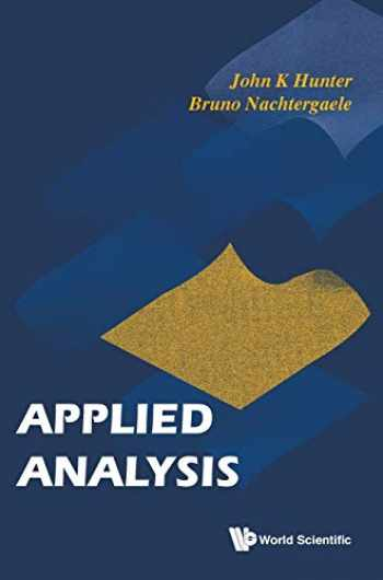 9789810241919-9810241917-Applied analysis