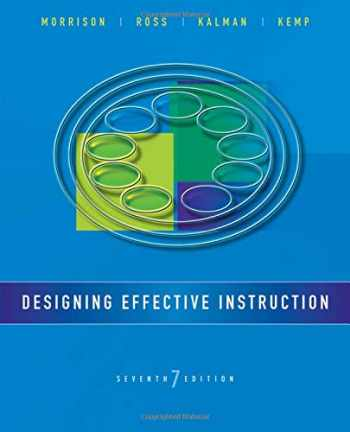 9781118359990-1118359992-Designing Effective Instruction