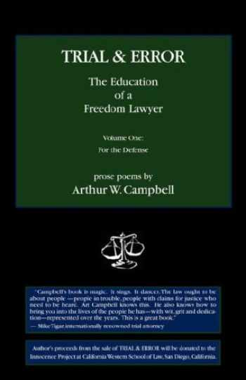 9780978959746-0978959744-TRIAL & ERROR The Education of a Freedom Lawyer
