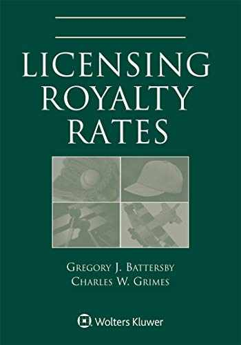 9781543800425-1543800424-Licensing Royalty Rates, 2019 Edition